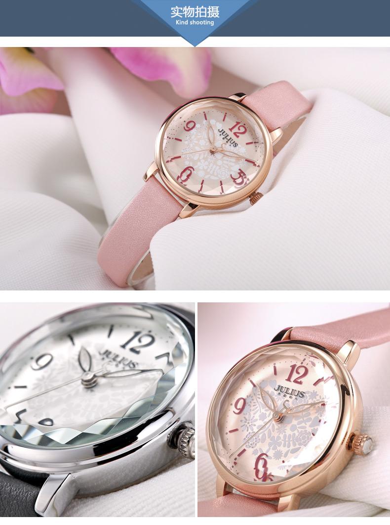 Casual Reloj Vestito Oro 9