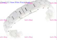 Free Shipping 1pcs Brand New 19mm White Ceramic Strap Band Belt Bracelet for J12 Man's Band Repair