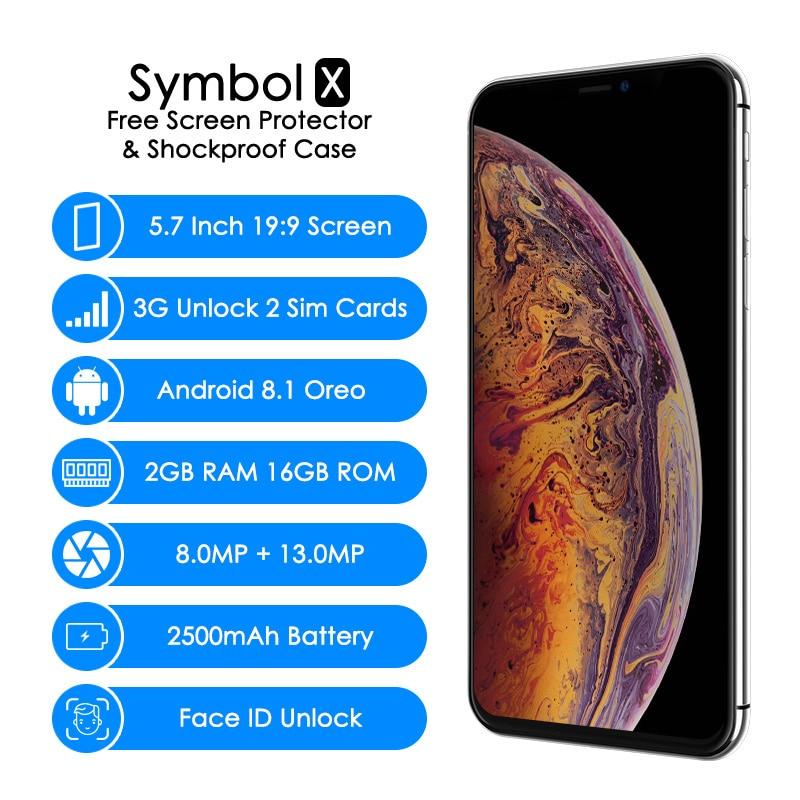 WOW X 3G 5.7 Inch Oreo Quad Core 2GB+16GB Smart Phone 1