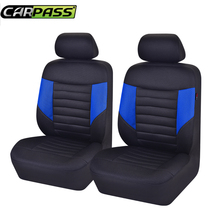 Car-pass Sandwich Car Seat Cover Set Universal Fit Most Vehicles Auto Seat Covers Car Accessories For Mazda Nissan Hyundai lada