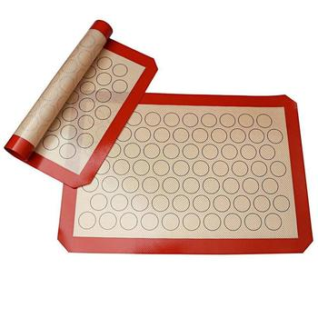 Silicone Baking Mat Suitable With Food Grade Silicone Fabric For Teflon Mat And Baking Mat