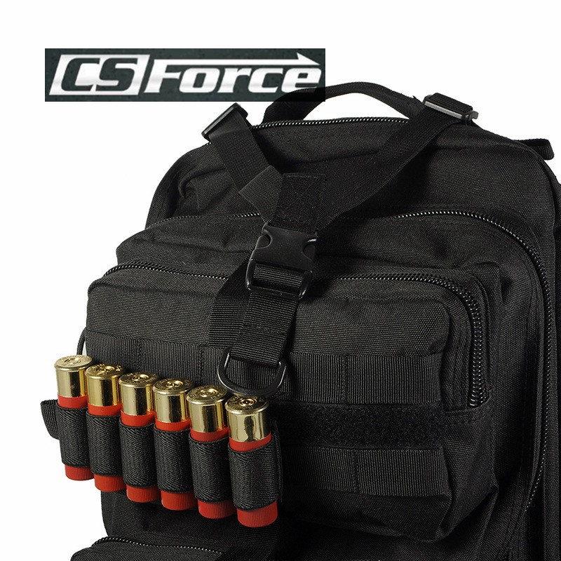 Airsoft Tactical Hunting Shotgun Shell Ammo Carrier Holder 6 Round 12Ga 20Ga Military Paintball Rifle Gun Ammo Carrier Pouch