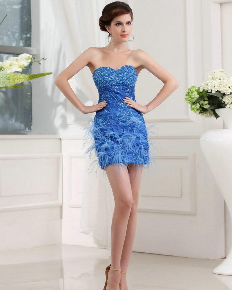 real model feather cocktail dress 2017 bling cocktail dress crystals short rhinestone dresses. Black Bedroom Furniture Sets. Home Design Ideas