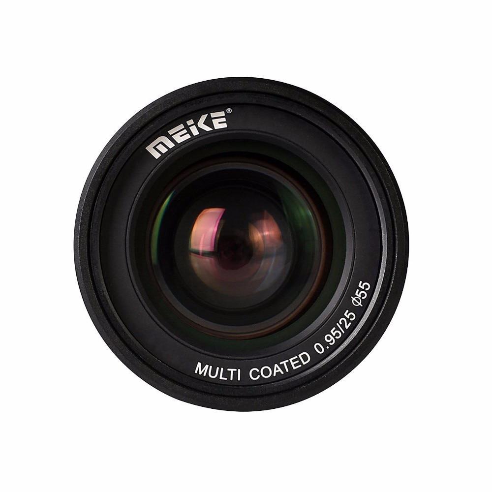 Original Meike MK-4/3-25-0.95 25mm High Quality Super Large Aperture Manual Focus lens APS-C For Mirrorless Cameras for Olympus meike mk 4 3 50 2 0 50mm f 2 0 large aperture manual focus lens aps c for 4 3 system mirrorless cameras for olympus panasonic