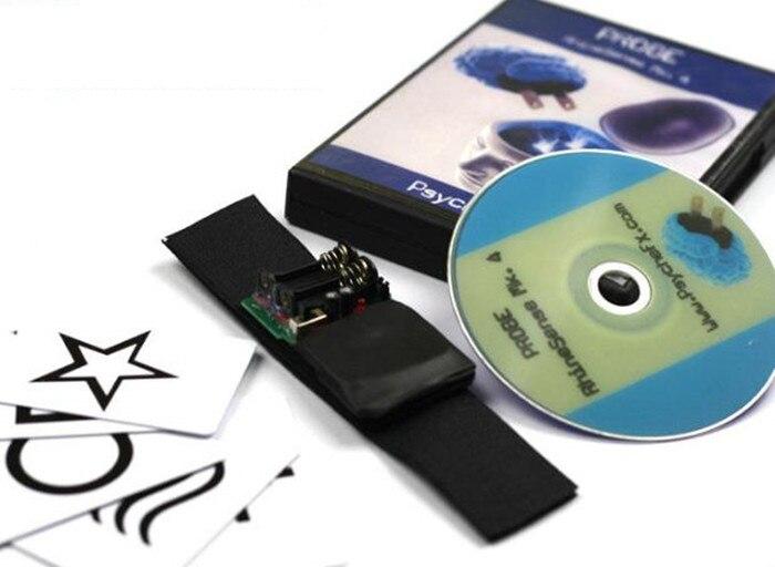 Alta calidad sonda rhinesense MK. 4 (versión de la tarjeta ESP + DVD), magia, truco, Accesorios mentalismo, truco mágico, juguetes, clásico - 3