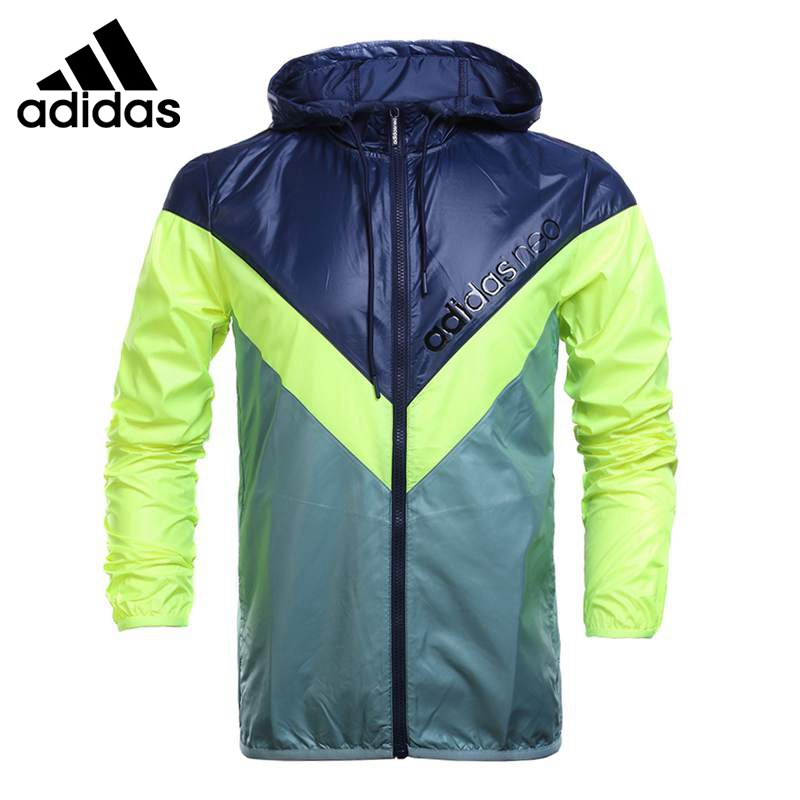 Original New Arrival  Adidas NEO Label Men's jacket Hooded Sportswear original new arrival 2017 adidas neo label graphic men s t shirts short sleeve sportswear