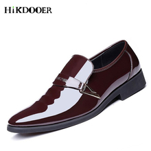 Men Dress Shoes Fashion Business Shoes Slip On Split Leather Pointed Toe Sneakers Men Business Wedding Oxfords Formal Shoes 2017 new black red mens oxfords crocodile pattern slip on pointed toe genuine leather business formal men wedding shoes