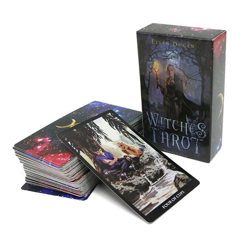 New Mystic Tarot Deck Cards Read The Mythic Fate Divination For Fortune Witch Card Game Tarot Toys For Children And Adult
