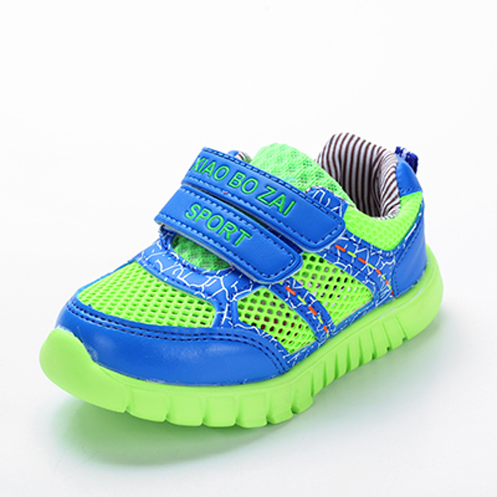 Spring and summer kids shoes high quality sneakers breathable casual sports shoes Anti-slip shoes boys girls shoes CS-094