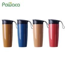 Seramik termos şişe termos çay bardağı Yalıtımlı Su Şişesi Sızdırmaz Çay Kupa Termos Bardak Çift Katmanlı Tasarım Şişe