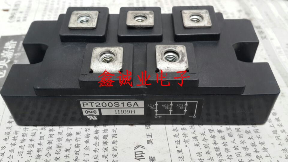 PT200S16A PT200S12 PT200S8 200A welding machine commonly used three-phase rectifier module 1600V saimi skd100 16 100a 1600v brand new original three phase controlled rectifier bridge module