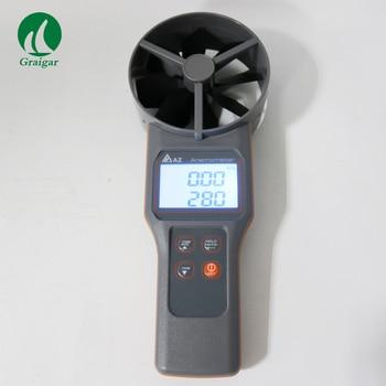AZ-8916 10cm łopatkowe temperatury i anemometr środki prędkości powietrza objętość urządzenie do pomiaru temperatury AZ8916