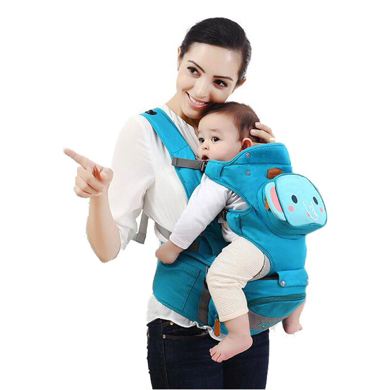 high quality comfortable Mambobaby Cotton Animal Infant Backpack Kid Carriage Wrap Sling Child Baby Carriers Small Bag Hipseat backpacks carriers baby infant breathable backpack baby carriers baby belt sling backpack comfortable infant pouch wrap carriers