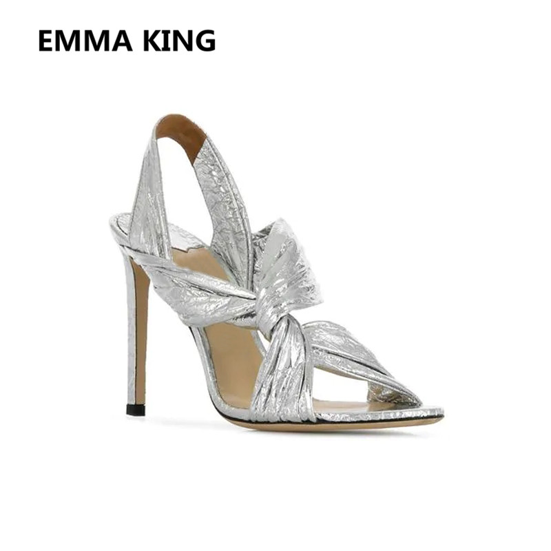 e1234ff40c29d8 Buy gladiator sandals silver and get free shipping on AliExpress.com