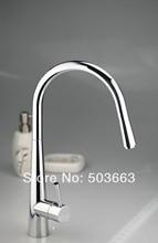 Хорошее качество Хром Латунь Вода кухонный краном Pull Out сосуд Раковина Одной ручкой на бортике смеситель MF-376