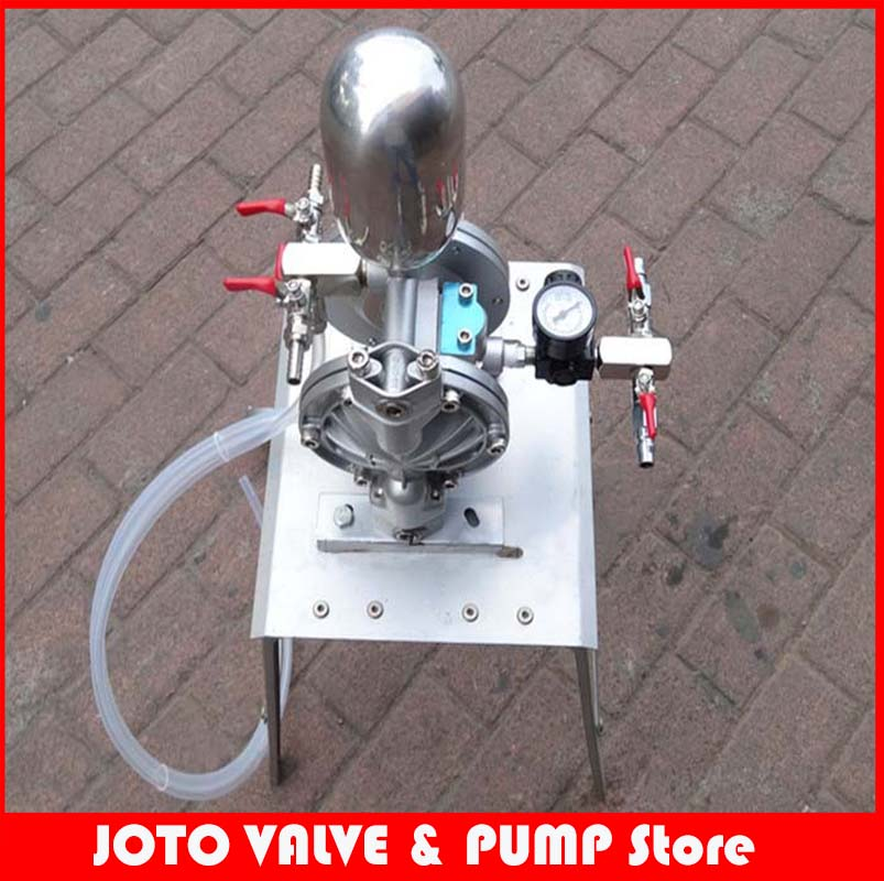 Small Protable High-Pressure Double Acting 35L/min Pneumatic Diaphragm Pump For Painting