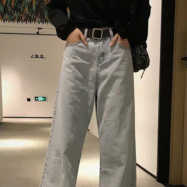 Japanese pin buckle decoration elegant simple wild student retro jean belts 4