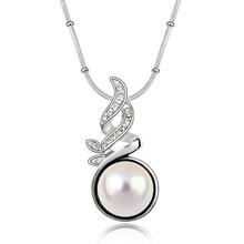 Чёрный искусственный жемчуг ожерелье европейский и американский горячий Классический персонализированный золотой для женщин