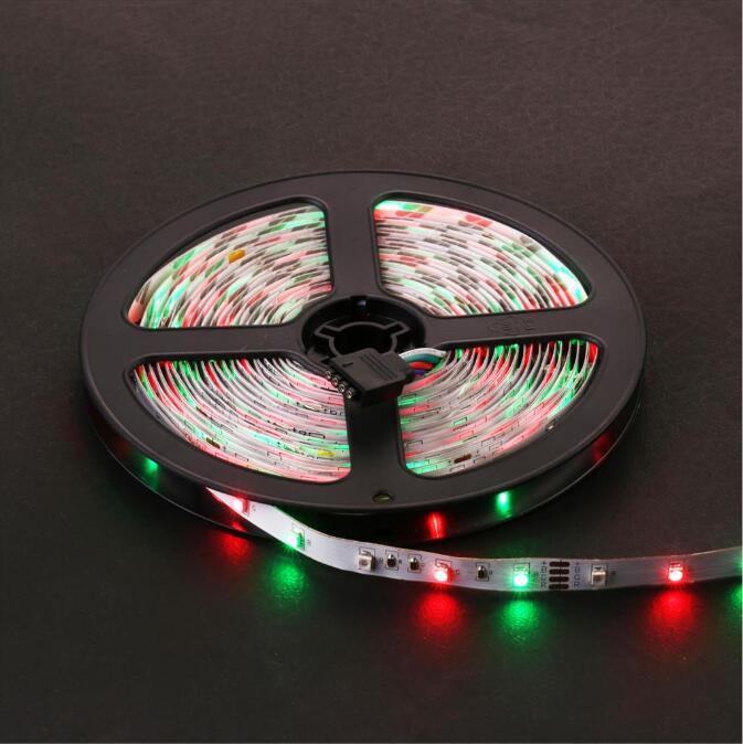 Tira de luz LED RGB impermeable IP65 60LEDs / m 5M 2835 SMD luces RGB - Iluminación LED - foto 4