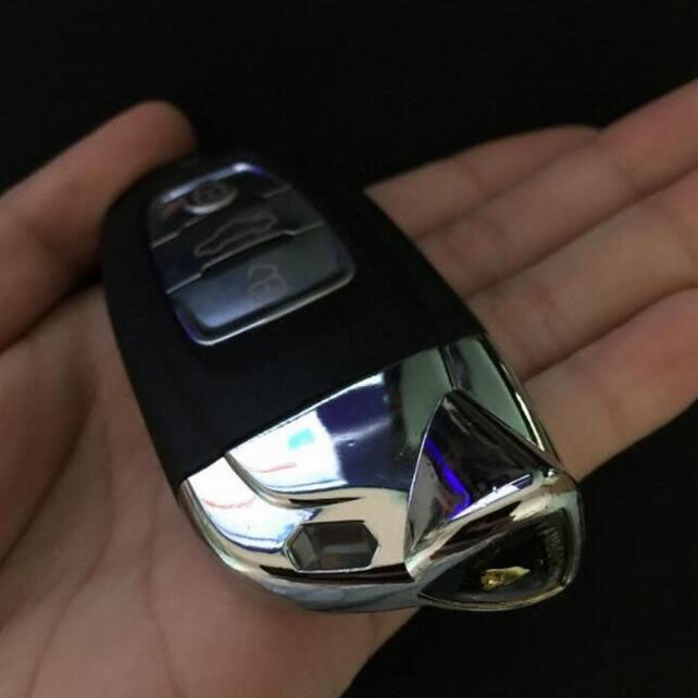 Smart Remote Key Shell Case For Lamborghini Aventador Keyless Entry Fob Key Cover (With Insert Small Key Blade) brand new high quality remote key keyless alarm 2 button for renault laguna smart card with insert small key blade 434mhz