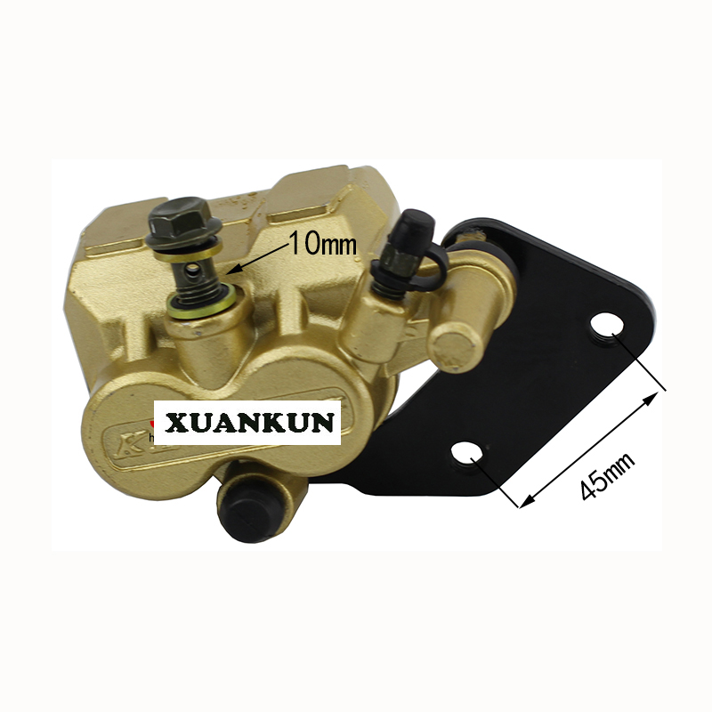 XUANKUN Off - Road Motorcycle Accessories 110CC Rear Brake Pump Rear Disc Brake Upper And Lower Pump Calipers Assembly xuankun off road motorcycle accessories off road vehicle drum core