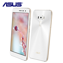 "New Asus ZenFone 3 ZE552KL 64GB ROM 4GB RAM Mobile Phone Octa Core Android 6.0 Qualcomm 5.5"" 1080P 16.0MP 2.5D Dual Sim Card"