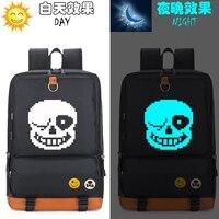 New Undertale Backpack Sans Skeleton School Bags Mochila Anime Men Woman Shoulder Laptop Travel Bags Gift
