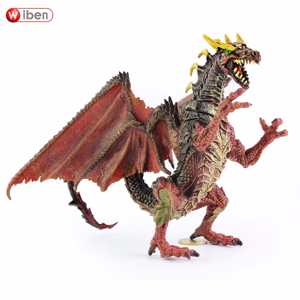 Wiben Anime The I Of The Dragon  Model Action & Toy Figures High Quality Collection