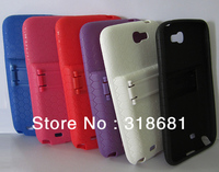 NEW Stand TPU Case Cover Extended Battery For Samsung GALAXY Note 2 N7100 Free Shipping