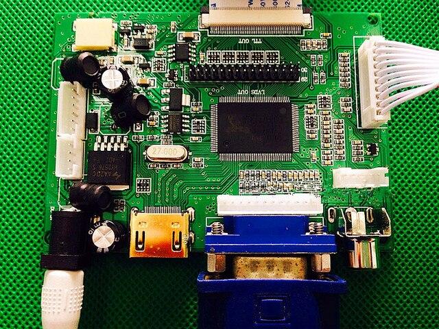 Placa controladora HDMI/VGA/AV + pantalla LCD de alta definición IPS de 8 pulgadas HE080IA-01D 1024*768 para Raspberry Pi