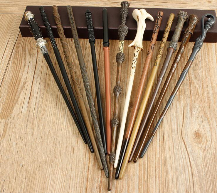 Hot Sale Collection Metal Core Harry Potter Magic Wands Series The Elder Dumberdor Hermione Snape Ginny