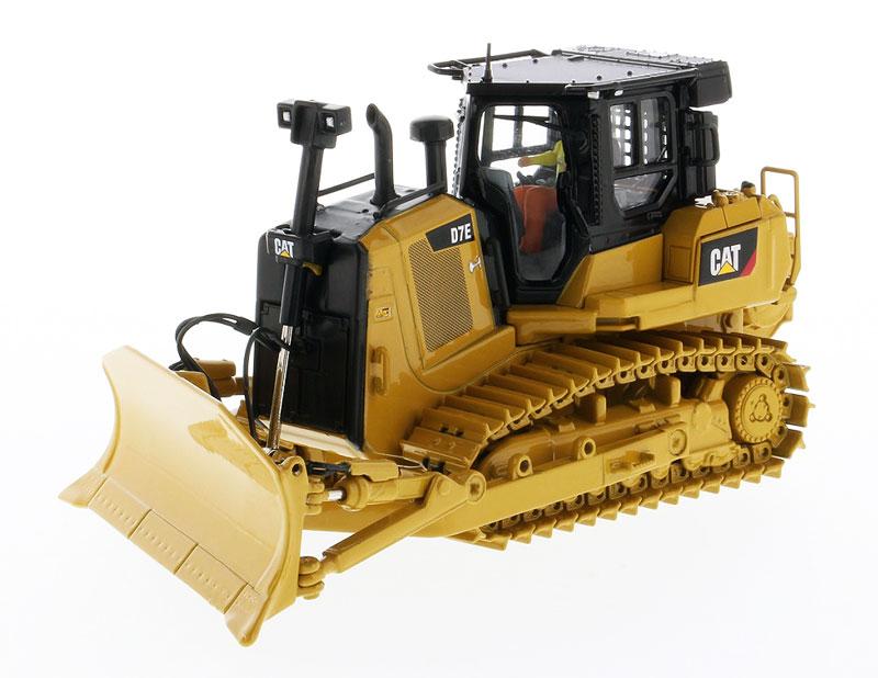 DM-85555 1:50 Cat D7E конфигурация трубопровода гусеничного типа трактор игрушка
