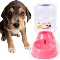 Chegam novas Bacia do Alimento Dish Feeder Cat Dog Pet de Água Automático dispensador de Água Potável Alimentação Comida de Cachorro Prato Tigela de Água do animal de Estimação 410