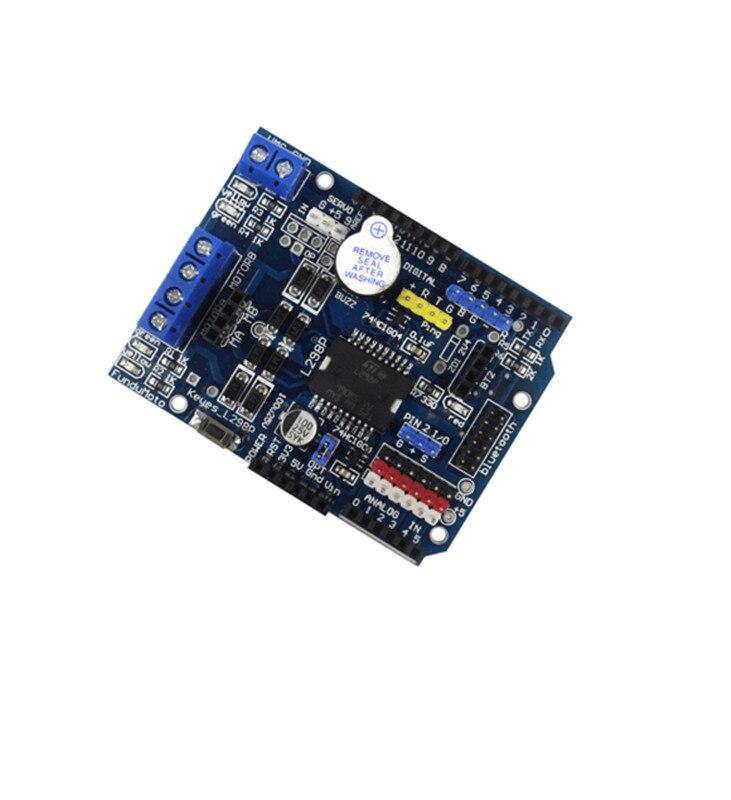 где купить  Stepper DC Motor Driver Shield L298P Driver Expansion Development Board For arduino Diy Kit L298  по лучшей цене