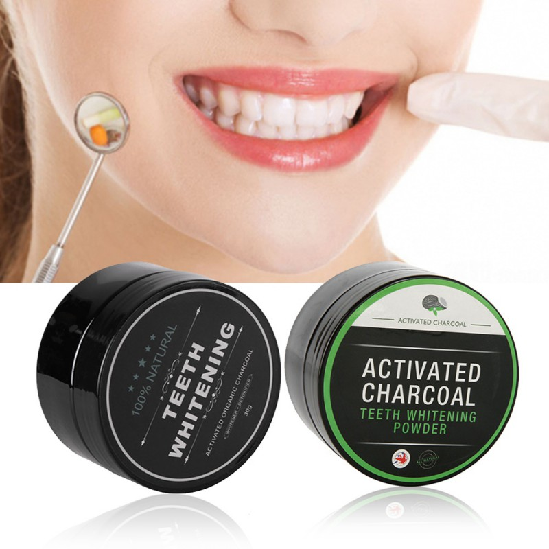 ACTIVATED CHARCOAL WHITENING POWDER 1
