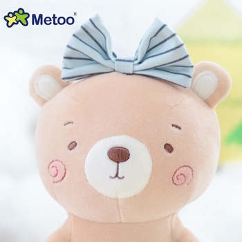 Мягкая плюшевая игрушка кролик медвежонок Metoo 5