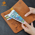 5.5 Universal Vintage Leather Flip Wallet Pouch For IPhone 5 6 7 Plus For HTC Huawei LG Sony For Samsung S4 S6 Edge Note 7 Case