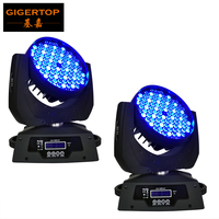 2pcs Lot 108pcs 3W Led Moving Head Wash With Low Noise High Quality RGBW Led Moving