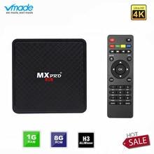 Vmade Original Smart Mini Media Player V96S Android 7.0 Allwinner H3 H.265 Support Netflix Flixster YouTube 1GB+8GB Mini TV Box