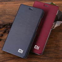 New Arrive For Xiaomi Redmi 4A Phone Case Luxury Slim Style Flip Leather Case For Xiaomi
