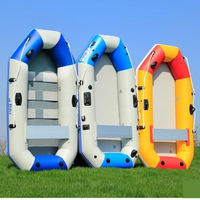 Wear resistant laminated 3 6 person fishing inflatable boat rubber boat