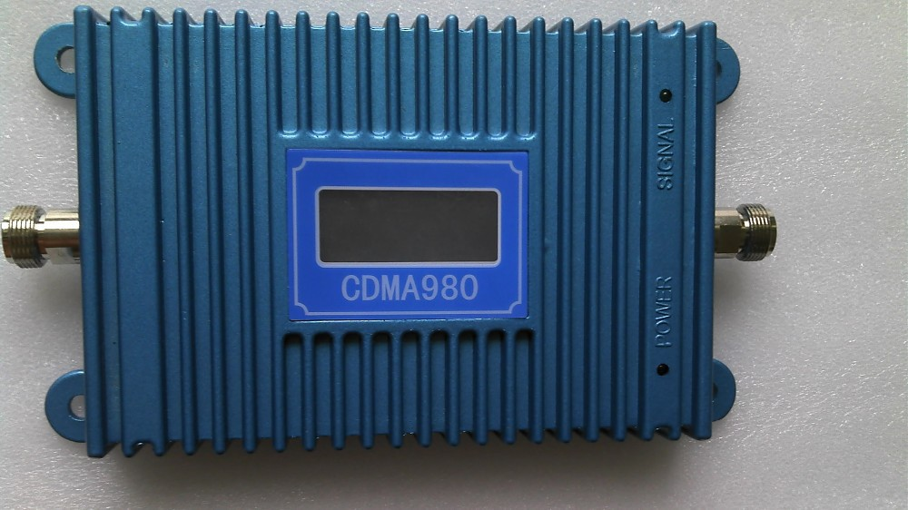 1PCS LCD Display GSM CDMA 980 850Mhz Mobile Phone Signal 70dB CDMA Booste Repeater Amplifier Coverage 2000square