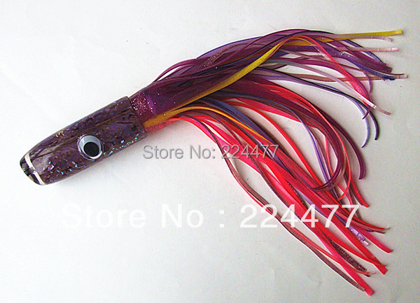 42cm Big Octopus Skirt Bait Big Tuna Bait Sea Fishing Lure Big Game Trolling Fishing Tackle Resin Head Double Octopus skirt 19 inch big soft baits sea fishing lure game trolling fishing lures resin head with double octopus skirt