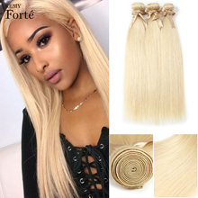 hot deal buy remy forte 613 blonde hair weaves mink straight brazilian hair bundles 100% honey straight remy hair extensions single bundles