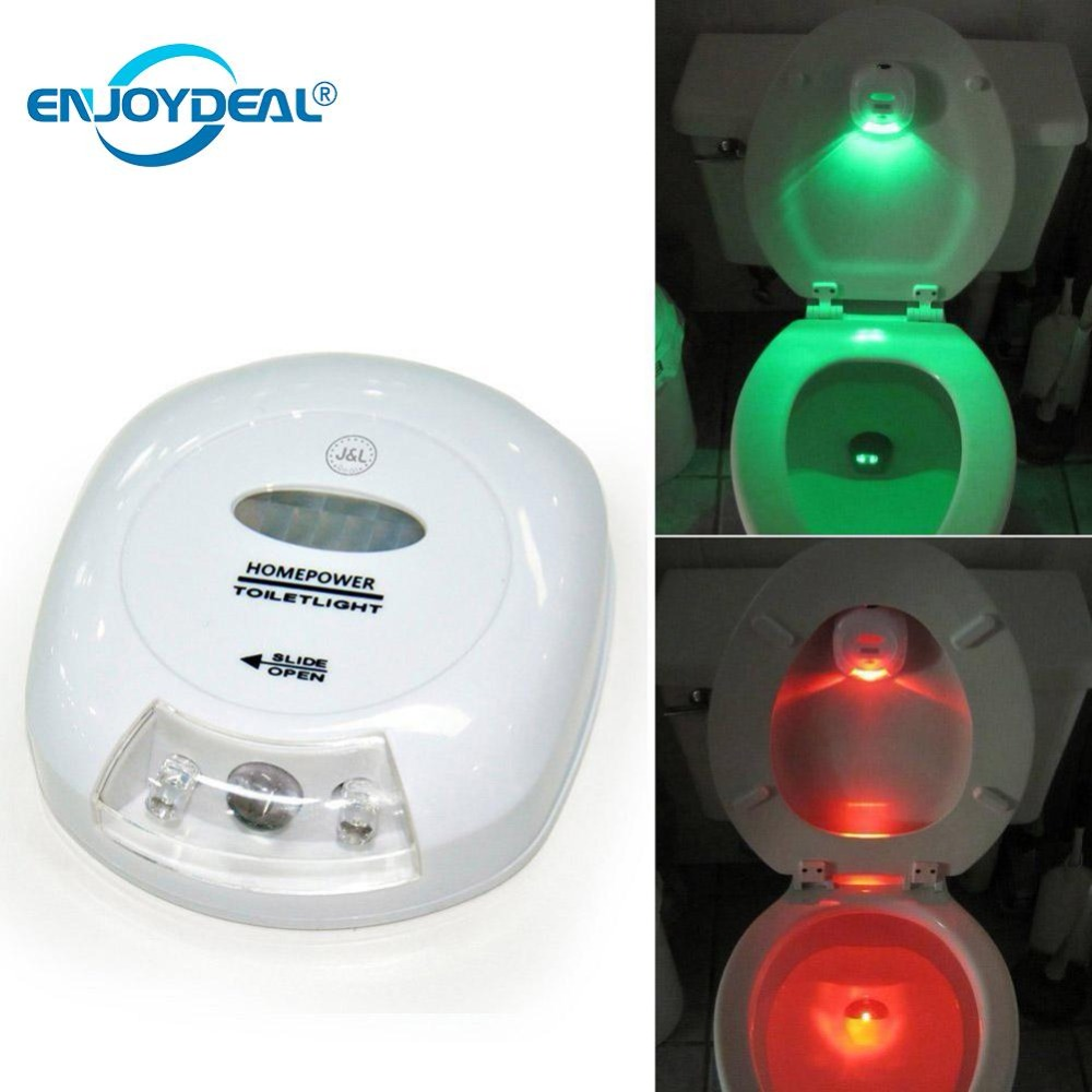 Hot LED Toilet Night Light PIR Motion Sensor Activated ...