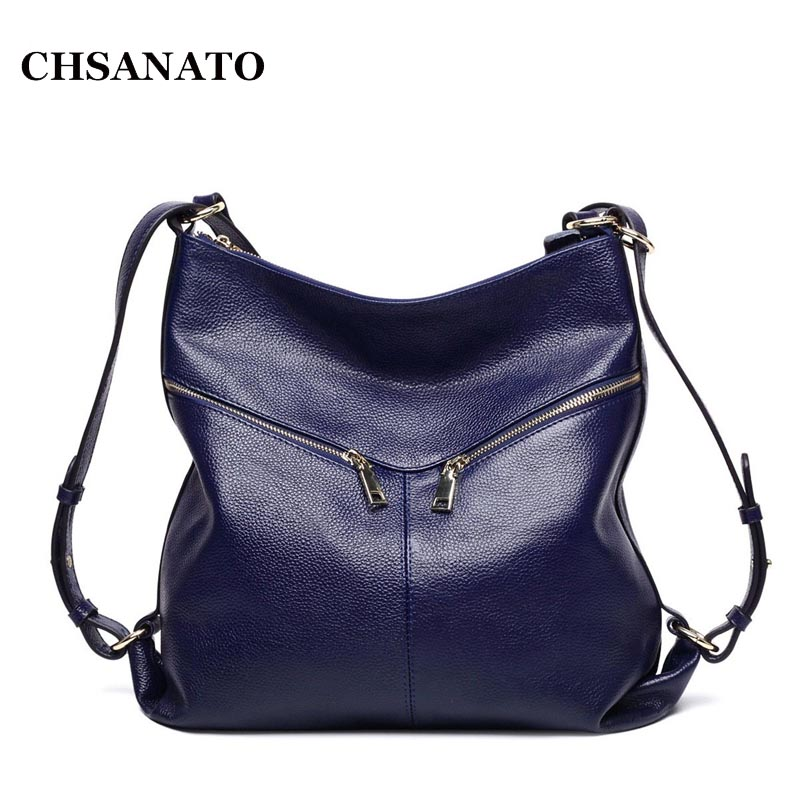 Zipper Women Genuine Leather Bag Women's Messenger Bags Tote Handbags Women Famous Brands High Quality Shoulder Bag Ladies chispaulo women genuine leather handbags cowhide patent famous brands designer handbags high quality tote bag bolsa tassel c165