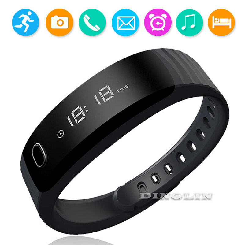 GZDL H8S Smart Sport Band Bluetooth Bracelet Pedometer Fitness Tracker Sedentary Sleep Monitor Wristband For IOS