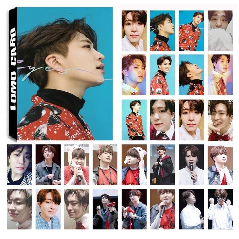 1 Box 30 Teile/satz Kpop Got7 Youngjae Einzigen 04 Augen Auf Sie Album Hd Foto Karte Pvc Selbst Made Lomo Photocard