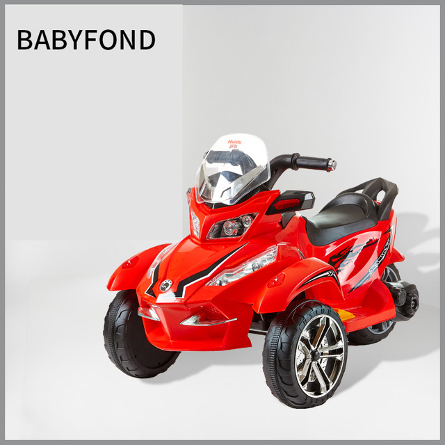 Babyfond Children S Three Wheeled Electric Motorcycle Antiskid External Music Playing