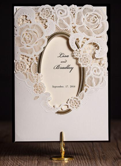 Framed Wedding Invitation To Create Your With Smart Design 2